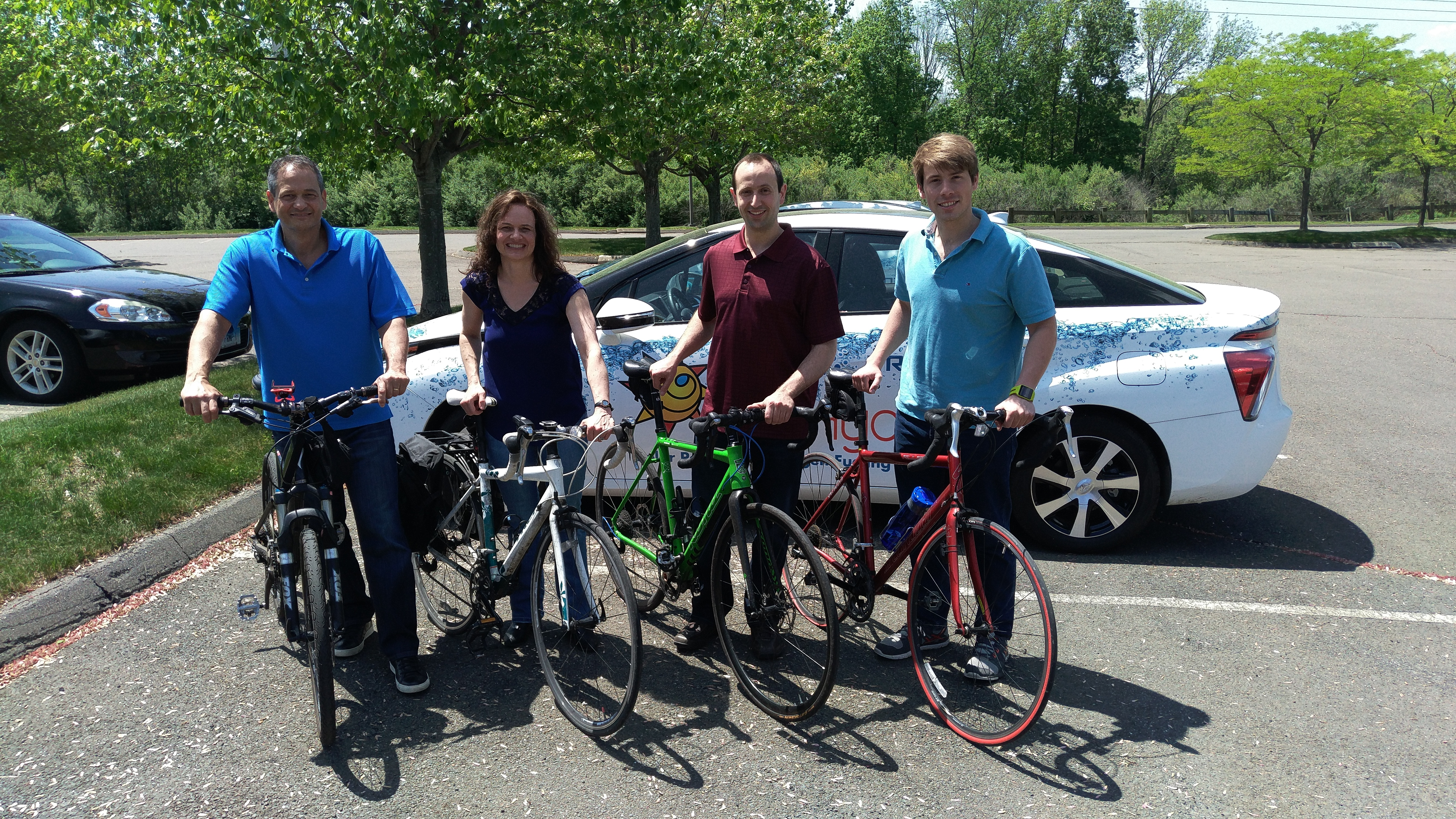Proton OnSite Celebrates National Bike to Work Day
