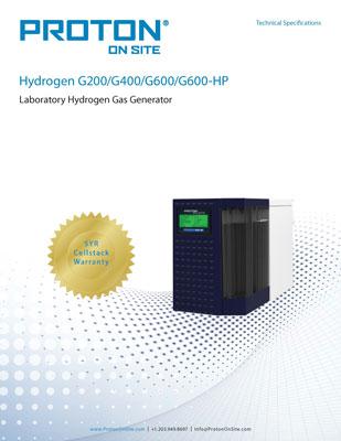 Benchtop Hydrogen Generators - 200 to 600cc/min | Proton OnSite