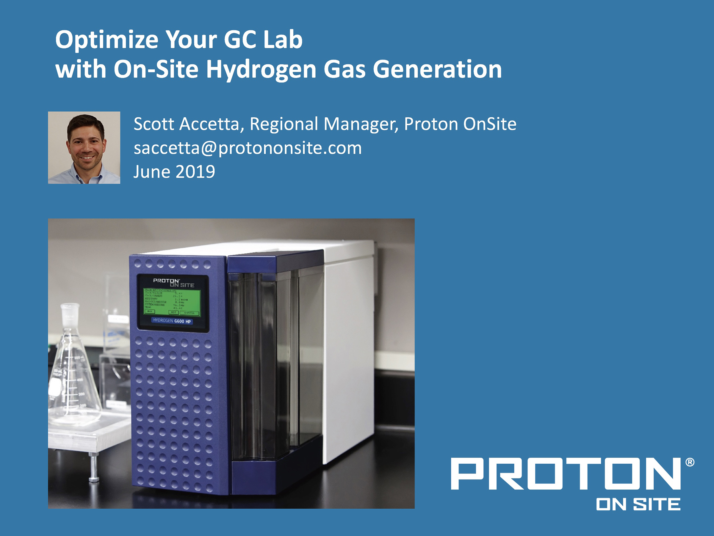 Optimize Your GC Lab with On-Site Hydrogen Gas Generation